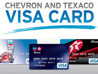 Chevron Credit Card Login