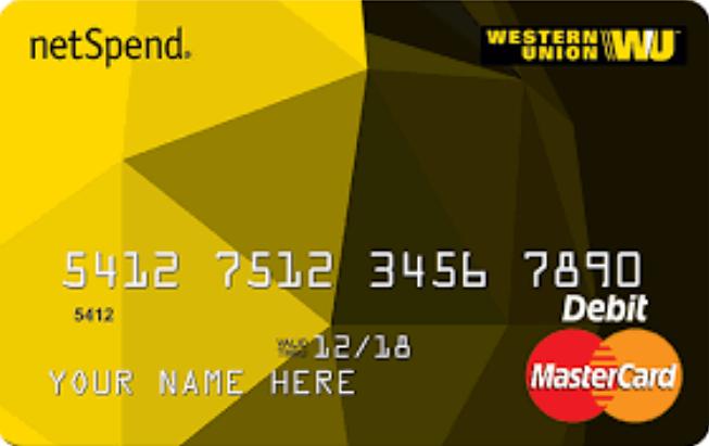 Western Union NetSpend Prepaid MasterCard Login
