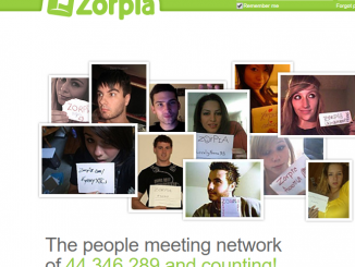 Zorpia Login Account