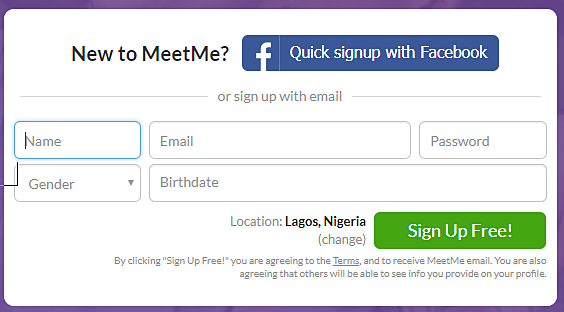 how to delete meetme account on mobile
