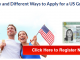 United States Lottery Visa - US Lottery Visa Application - US Diversity Visa Application