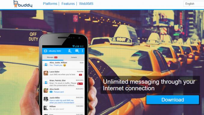eBuddy.com - eBuddy Messenger   eBuddy Web XMS   eBuddy App Download