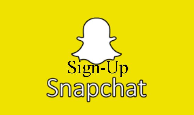 Snapchat Registration - Sign up Snapchat - Create Snapchat Account