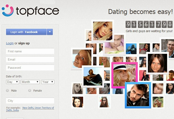 Sign up Topface Account - Topface Login - Topface App Download