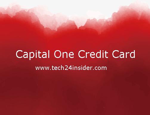 Capital One Quicksilver Credit Card Account Login