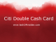 Citi Double Cash Card Account Login | Citi Double Cash Card SignUp