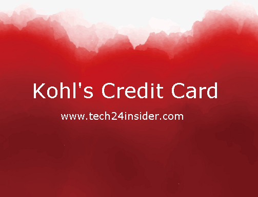 Kohl's Credit Card Login | Kohl's Charge Card Account Login