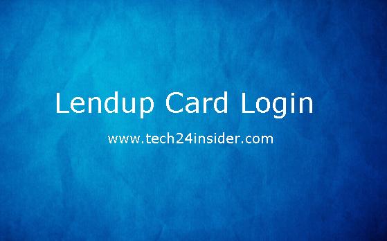 Lendup.com/Card – Lendup Login – Lendup Card Login