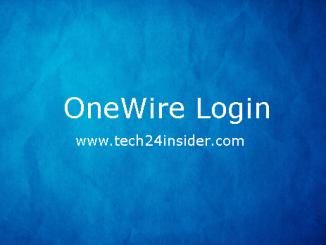 OneWire Login – OneWire Account Login – OneWire Sign Up