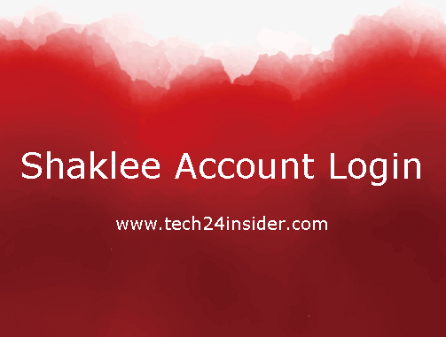 Shaklee Account Login