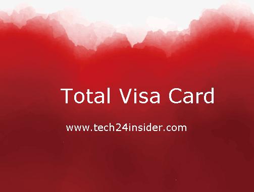 Total Visa Card login