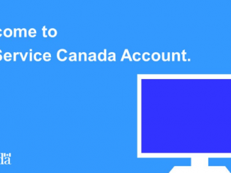 My Service Canada Account Login- Service Canada login