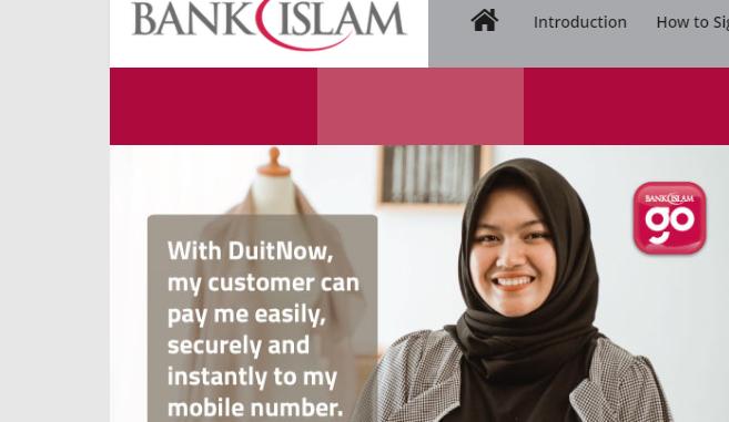 Bank Islam login