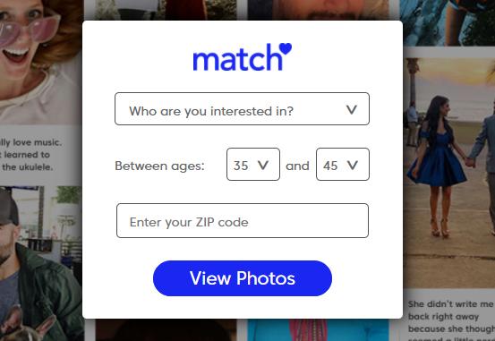 Match.com Dating Registration