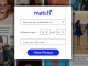 Match.com Dating Registration