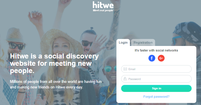 Hitwe.com Account Create