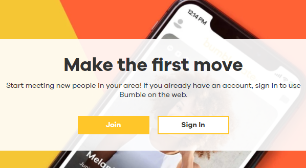 Bumble Dating Sign Up