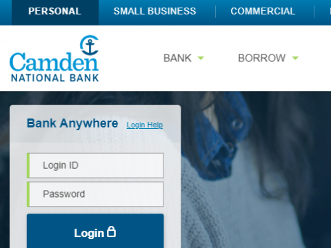 Camden National Bank Online Banking Sign-In